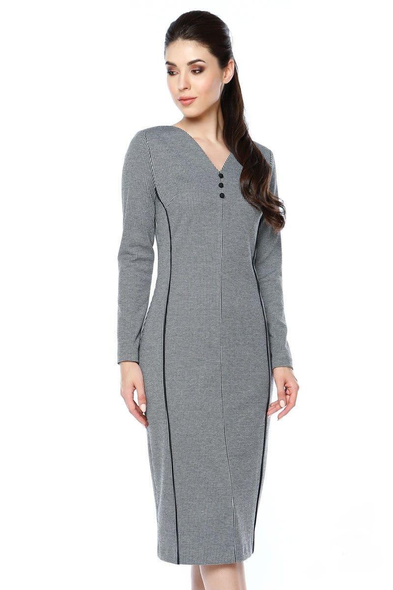 Модное недорогое  платье LalaStyle 1298-111
