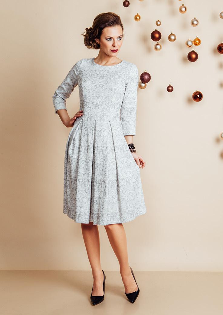 Нарядное женское платье Top Design NB6 06