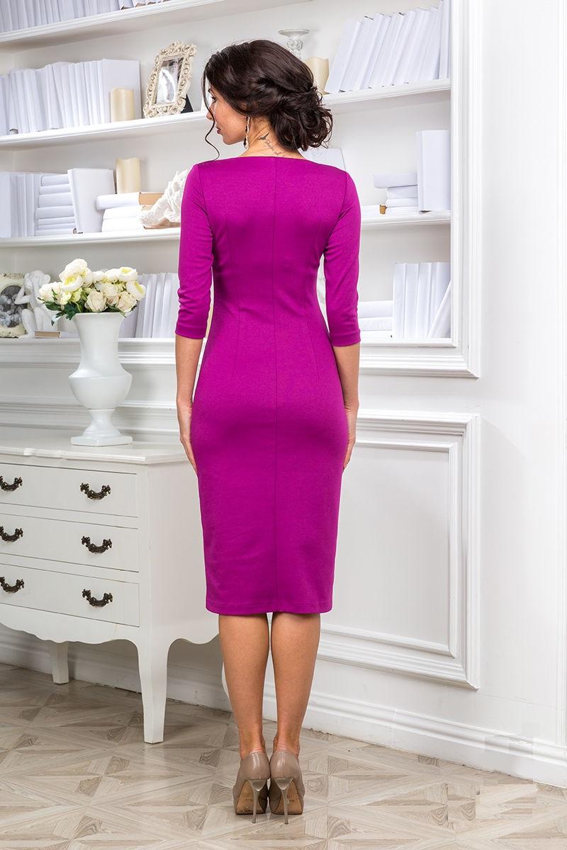 Модное платье на каждый день Lala Style 1133-38