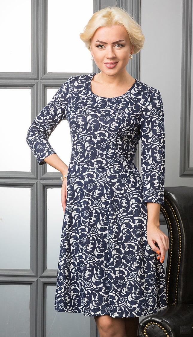 Женское недорогое платье Lala Style 714-05