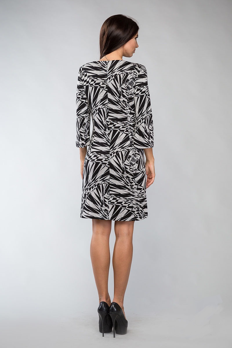 Стильное трикотажное платье Lala Style 739-50