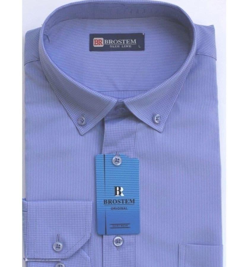 Рубашка с воротником на пуговицах Brostem T7695-7