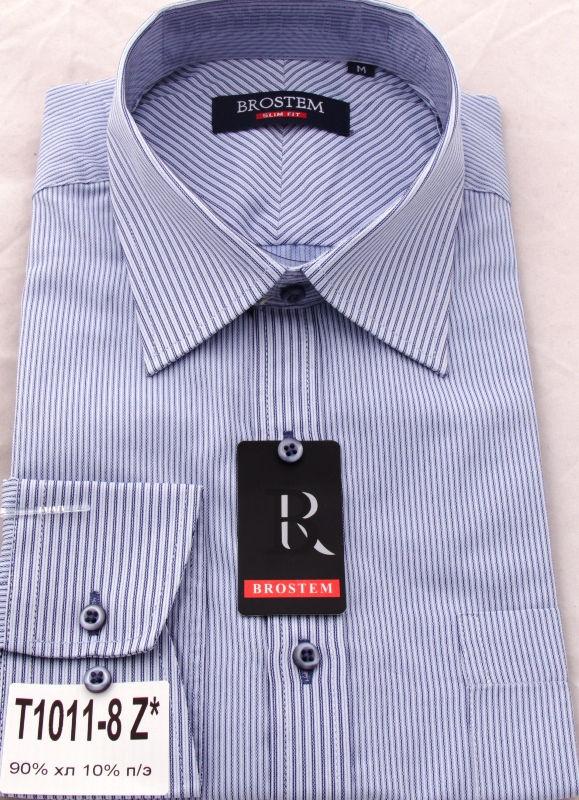 Деловая мужская рубашка Brostem 1011-8