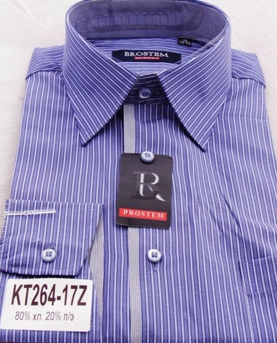 Сорочка мужская комбинированная Brostem КТ264-17