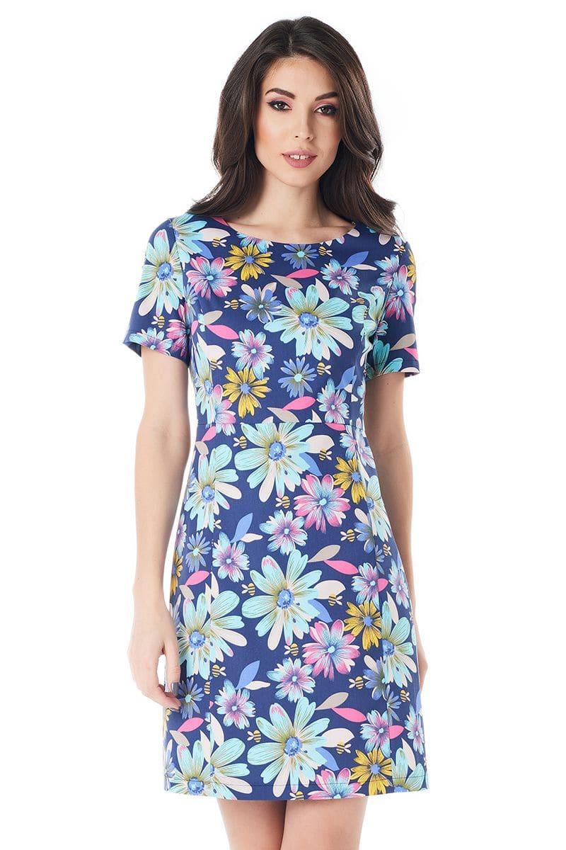 Хлопковое платье LalaStyle 1389-192