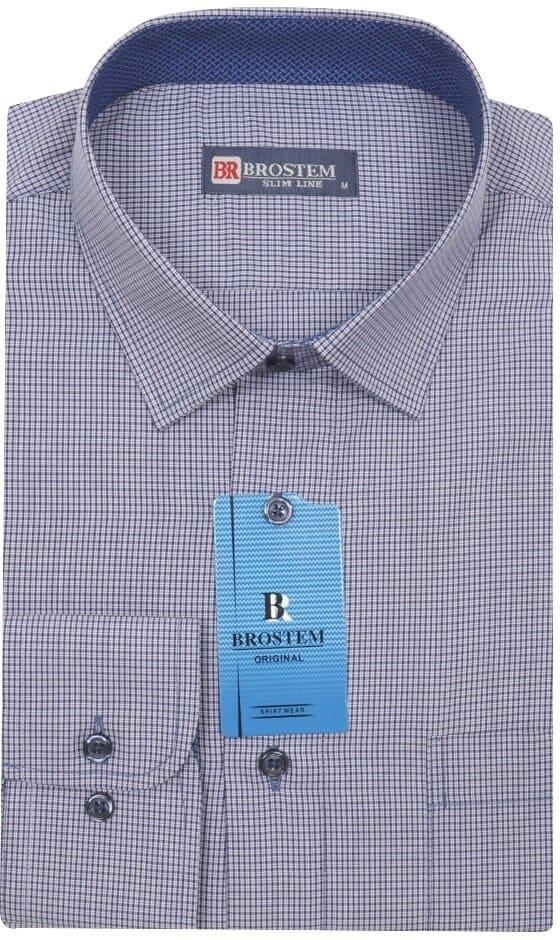 Мужская рубашка для офиса Brostem 3794-13