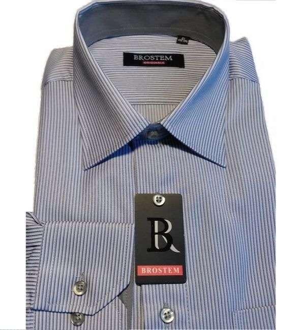 Красивая рубашка в полоску Brostem 2785-3