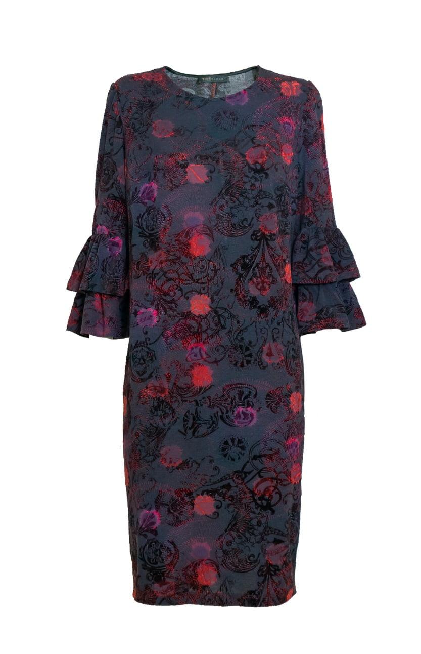 Эффектное  платье  TopDesign NB7 14
