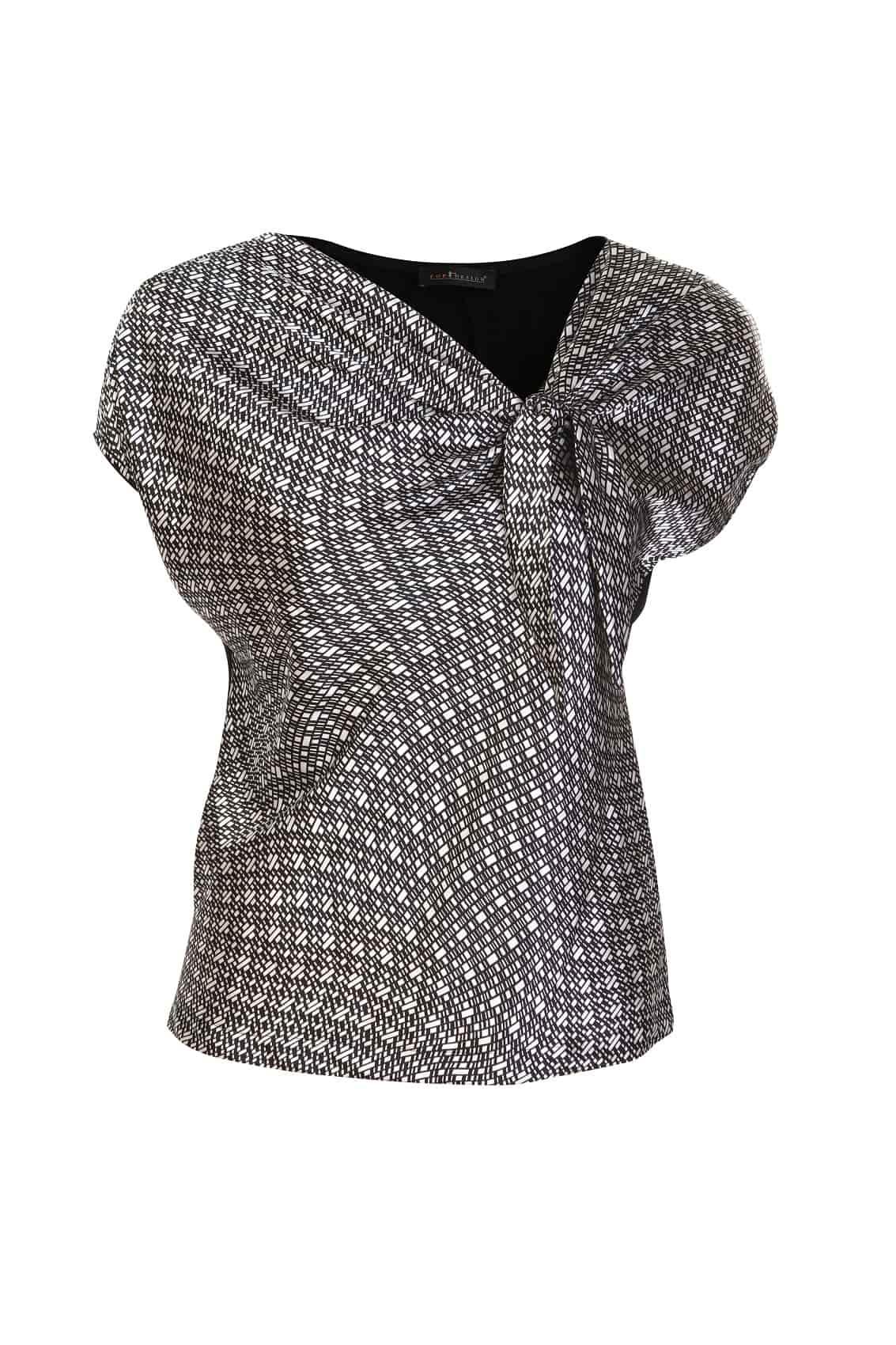 Эффектная блузка под юбку  Top Design A7 044