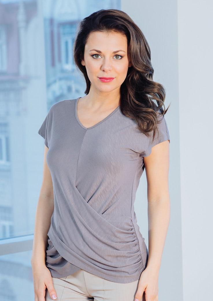 Модная блузка Top Design РА7 33