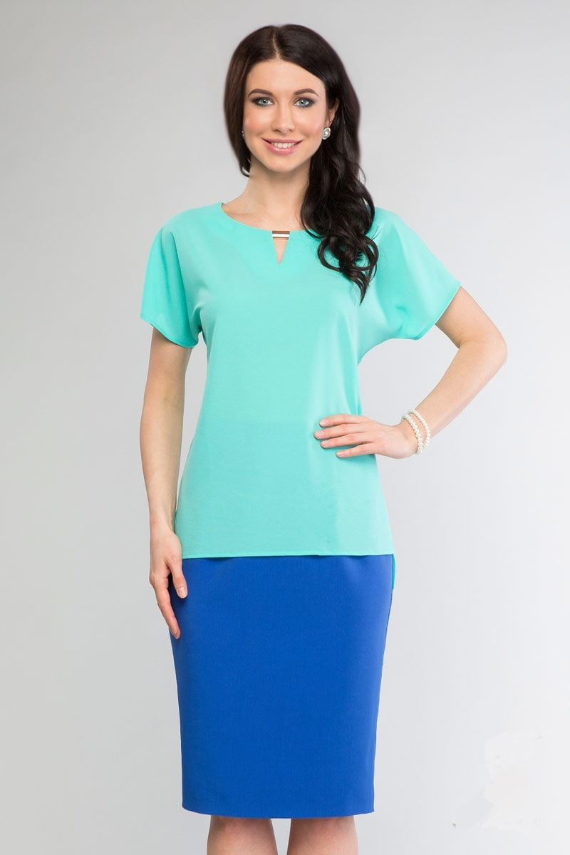 Модная блузка на лето LalaStyle 1068-78