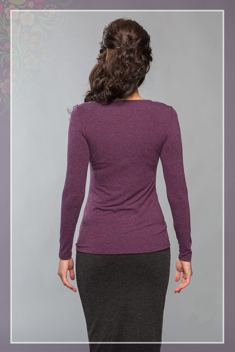 Блузка длинный рукав LalaStyle 862
