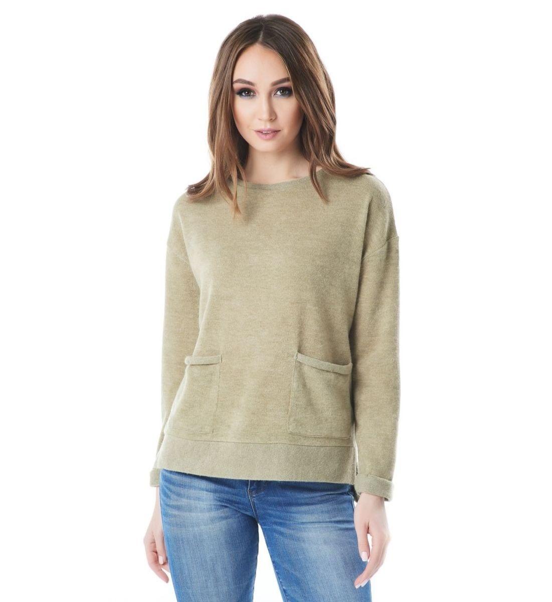 Фисташковая блузка LalaStyle 1442