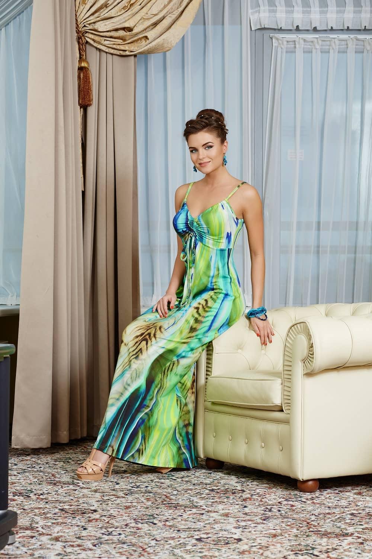 Шикарное длинное платье TopDesign РА4 17