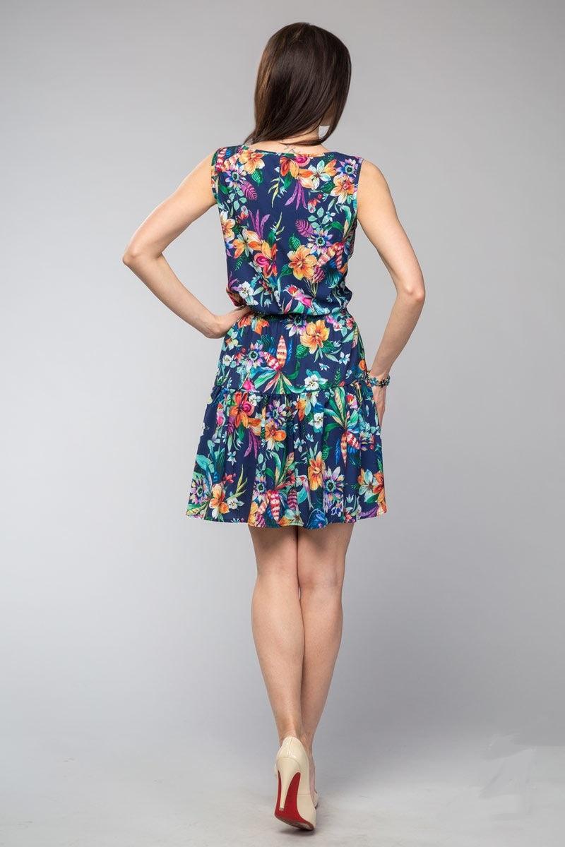 Красивое платье на лето LalaStyle 1081-05
