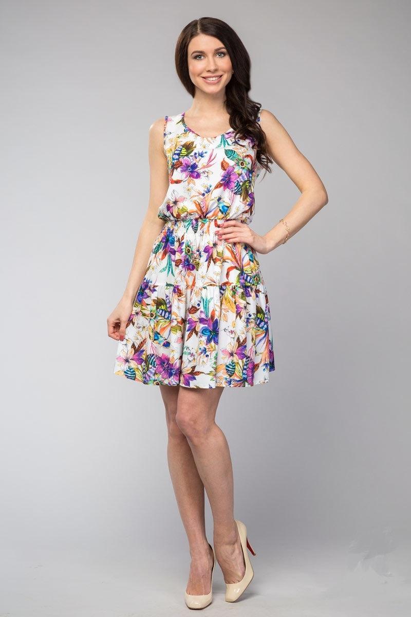 Нежное платье на лето LalaStyle 1081-04