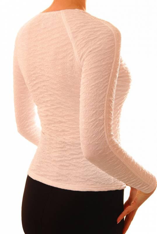 Приталенная блузка The Distinctive  005