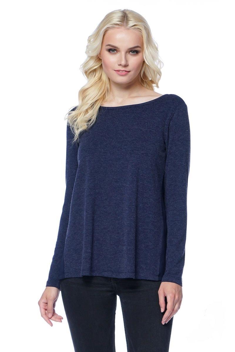 Расклешенная блузка LalaStyle 1286