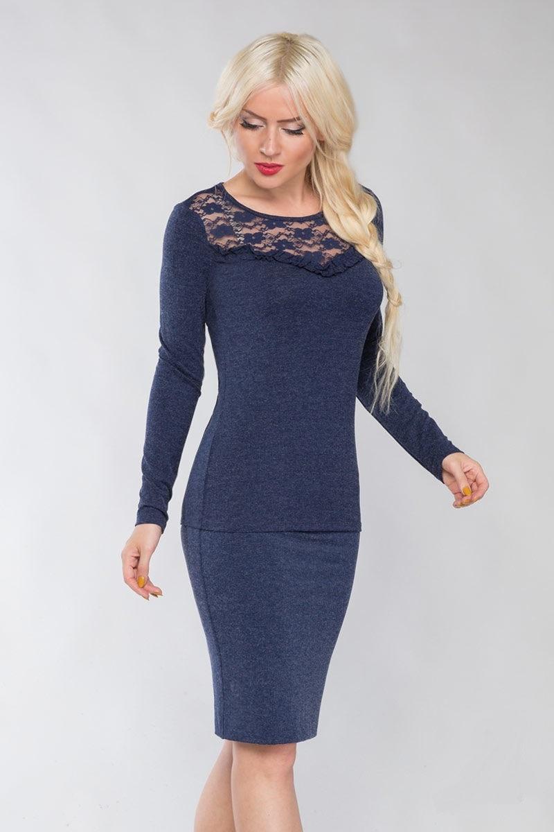 Элегантная блузка Lala Style 1113
