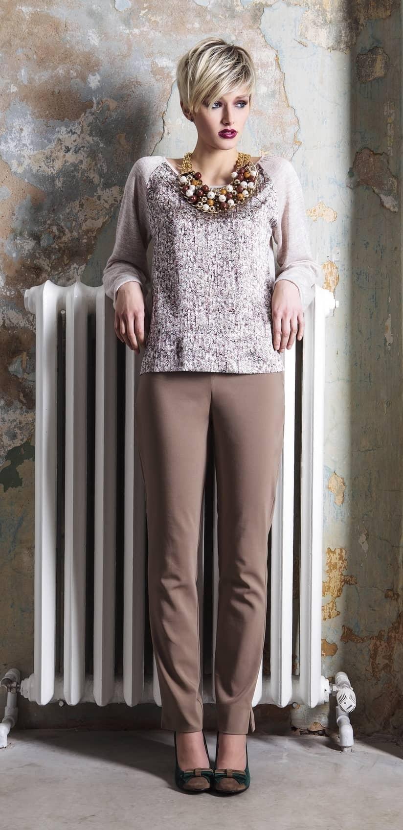 Модный женский джемпер Flaibach 087W5