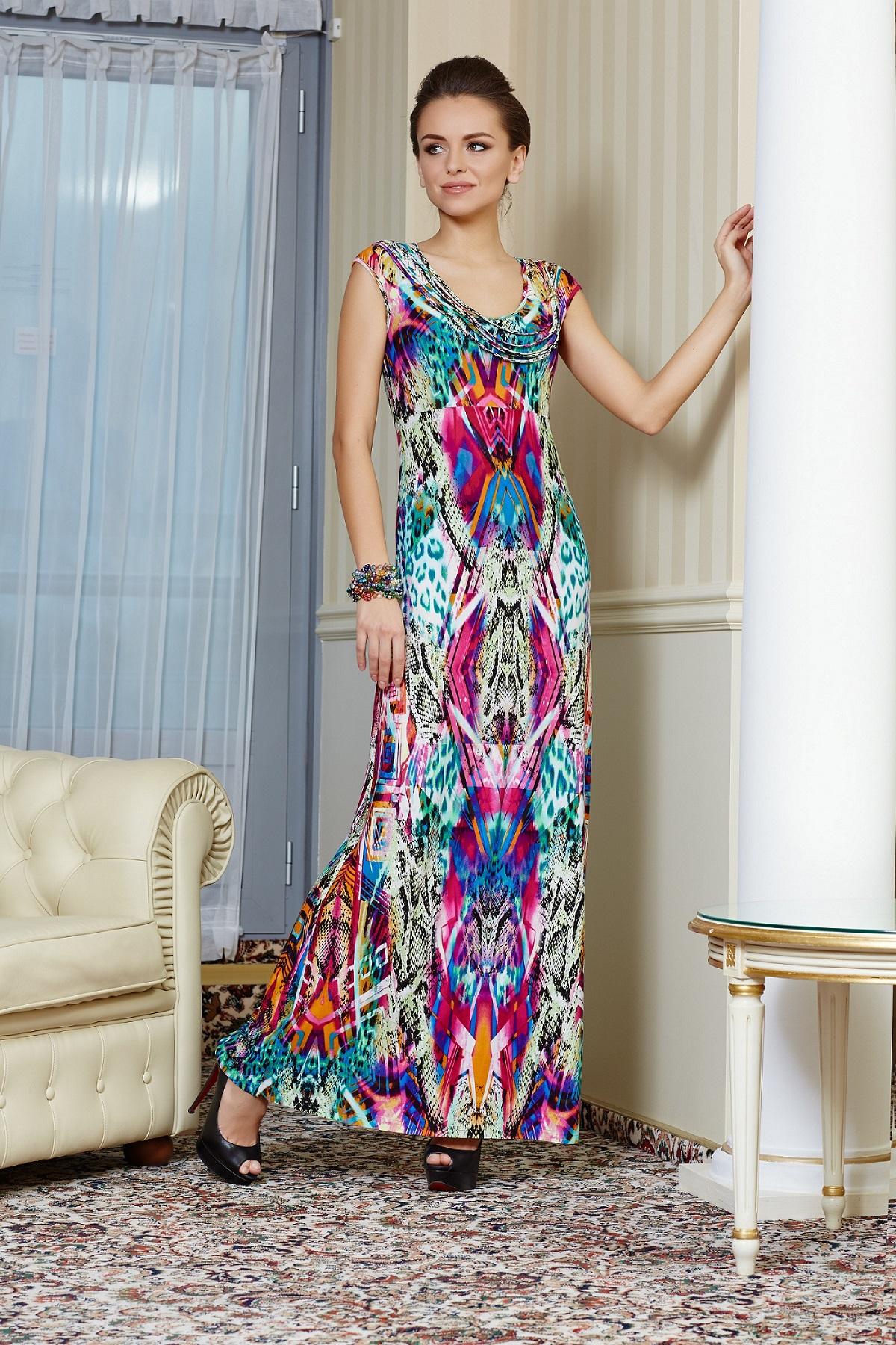 Летние платье TopDesign РА4 18