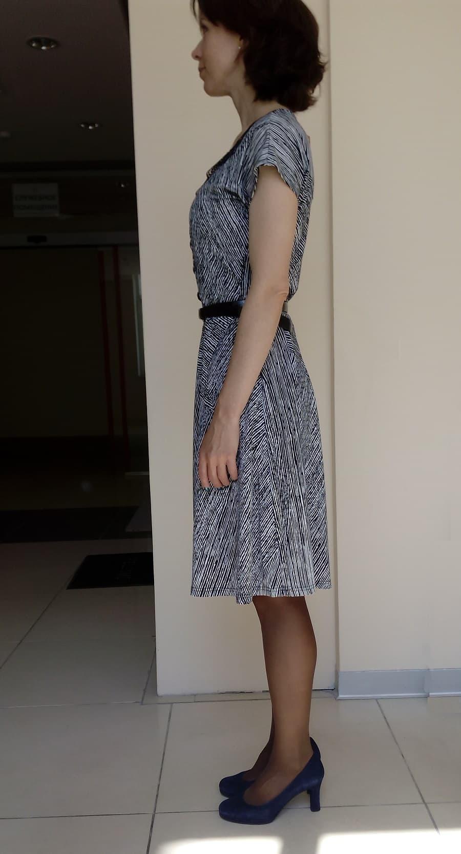 Стильное платье TopDesign А4 063
