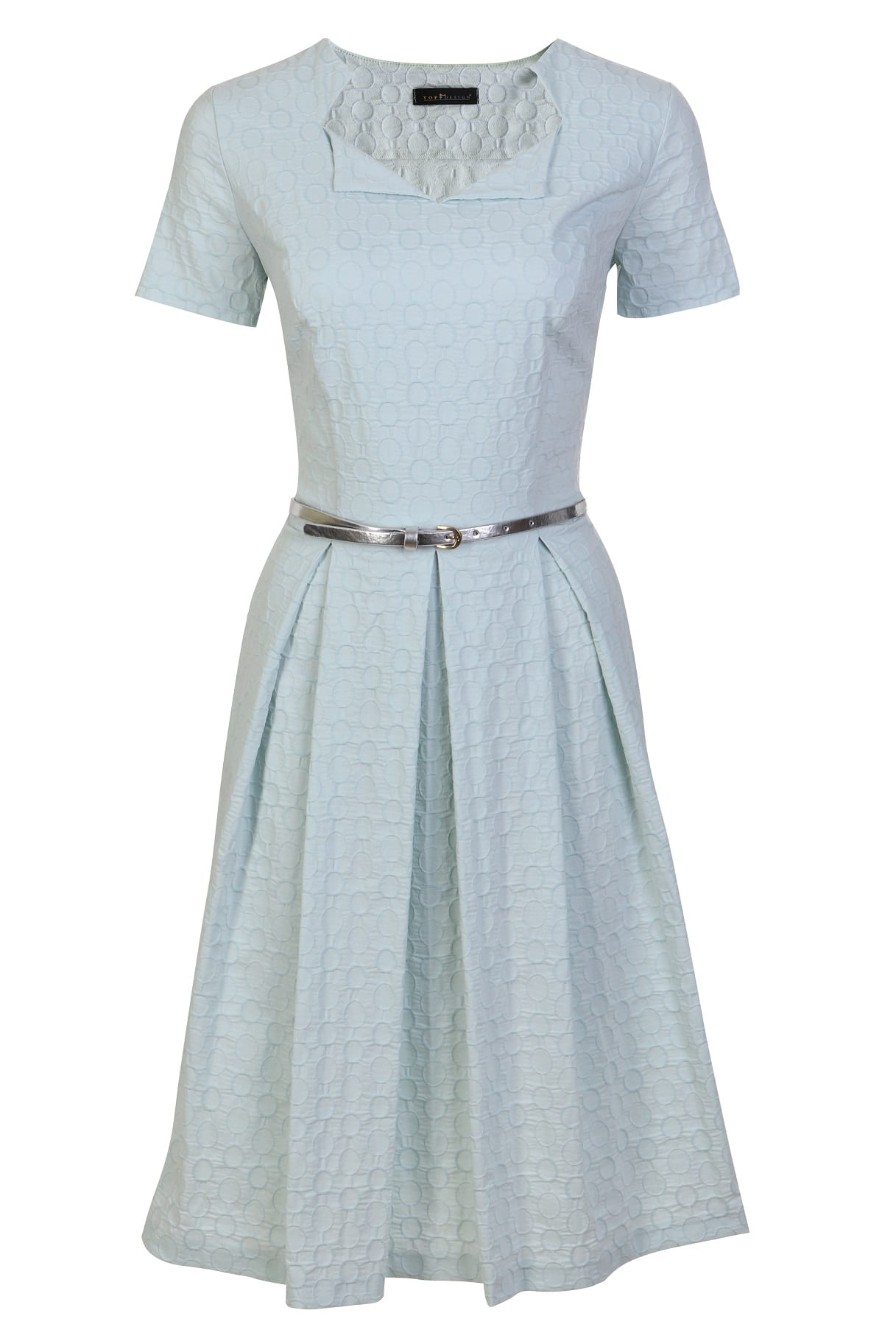Хлопковое платье TopDesign РА7 01