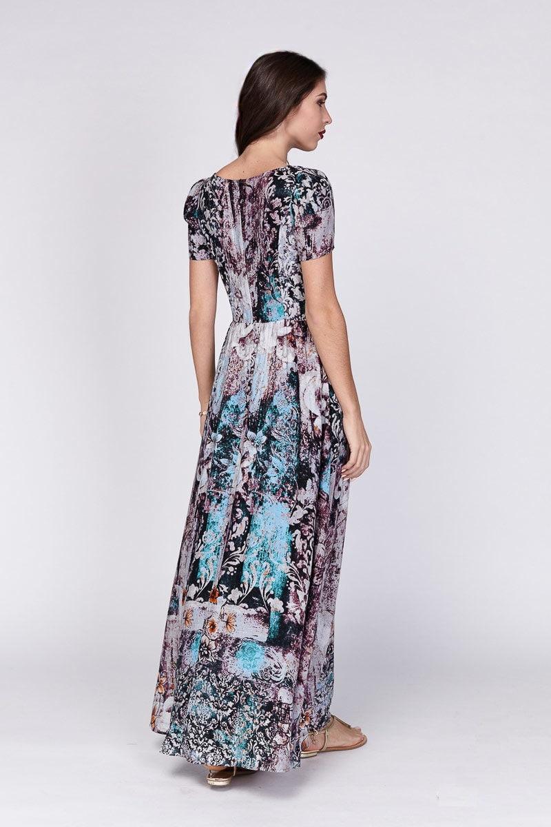 Длинное платье Lala Style 1221-102