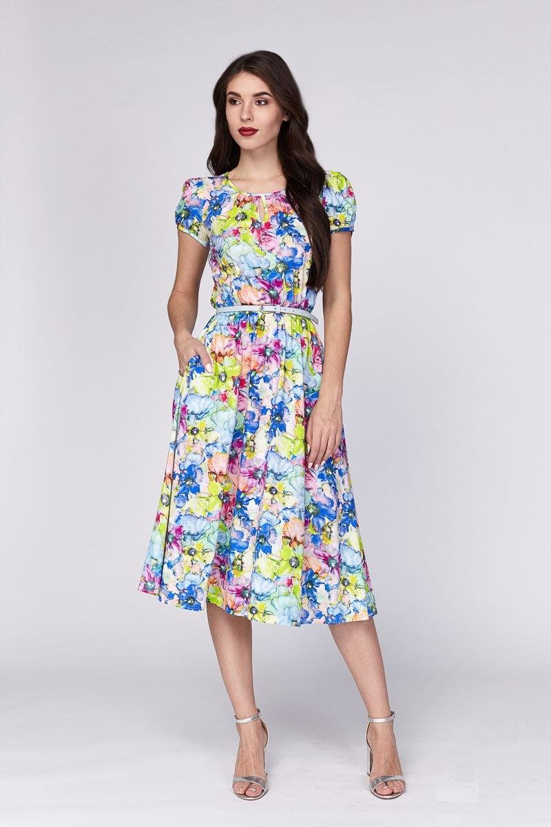Летние женское платье Lala Style 1220-99