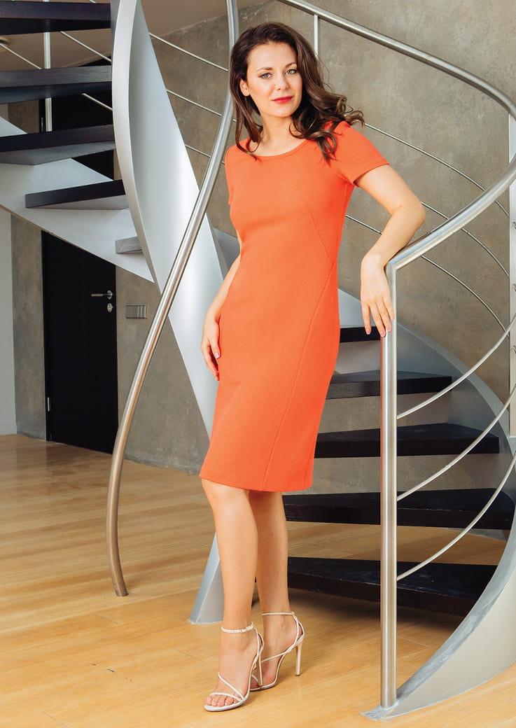 Модное платье TopDesign РА7 43