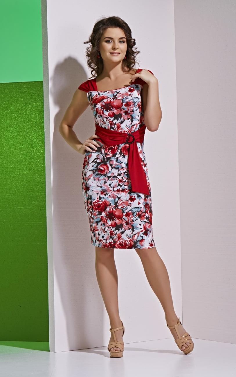 Очаровательное платье Top Design А4 136
