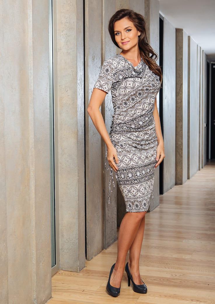 Женское платье Top Design А7 001