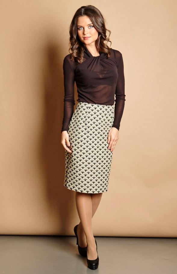 Модная юбка Top Design РВ5 04 Латвия