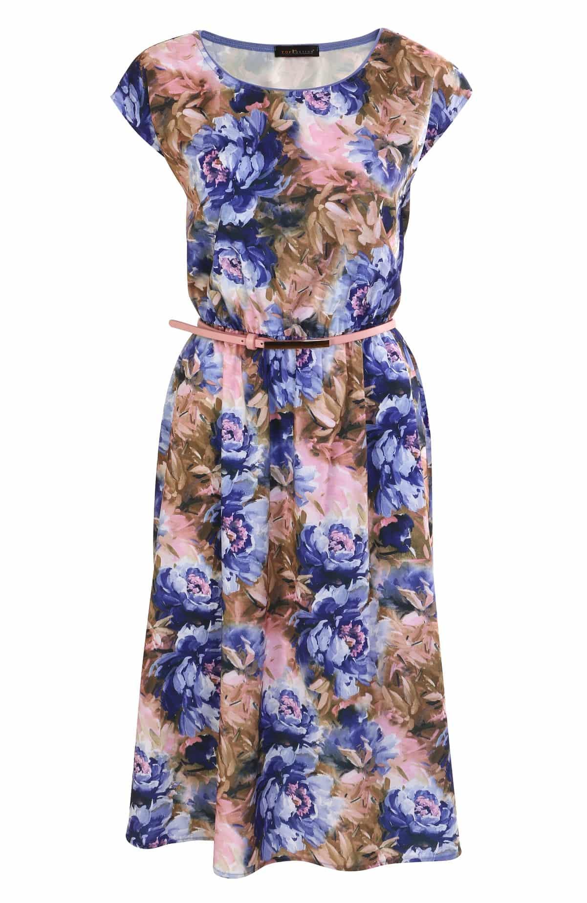 Красивое платье TopDesign А7 110