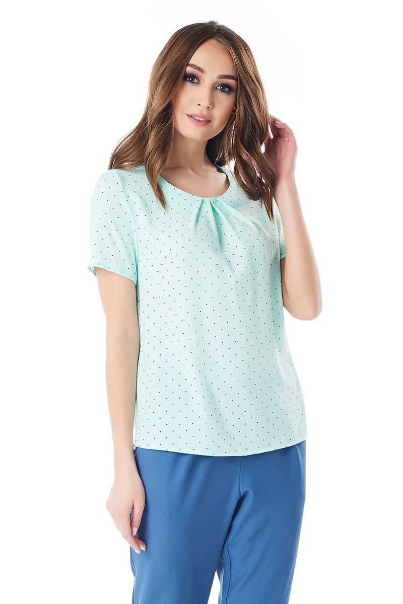 Оригинальная блузка на лето Lala Style 1384-211