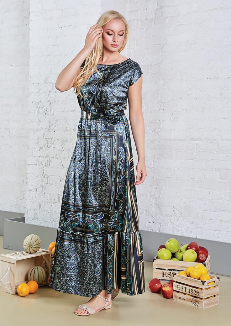 Нарядное длинное платье Top Design А8 116