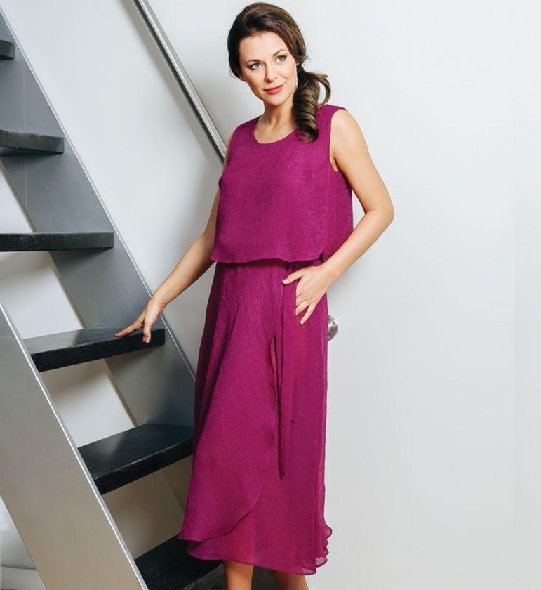 Стильное платье на выход TopDesign А7 083 Латвия