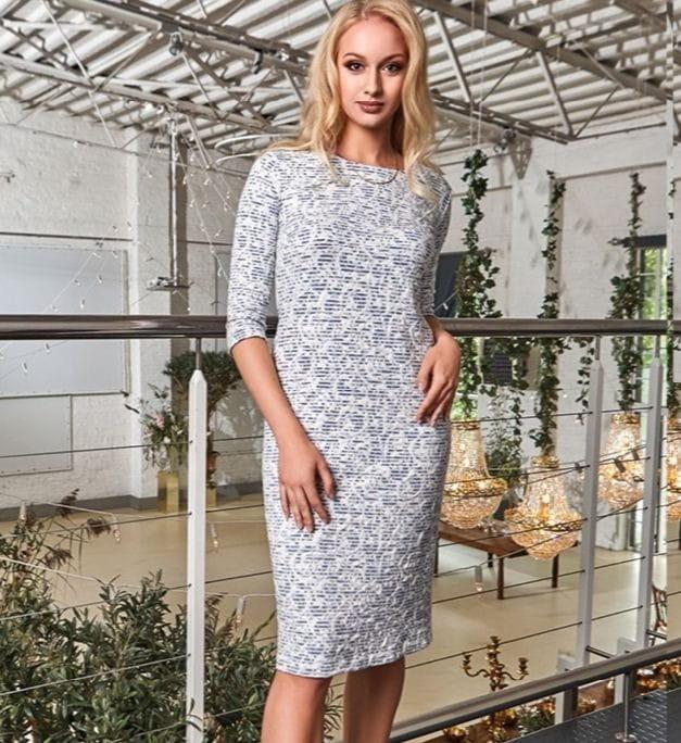 Стильное платье женское Top Design PA8 01