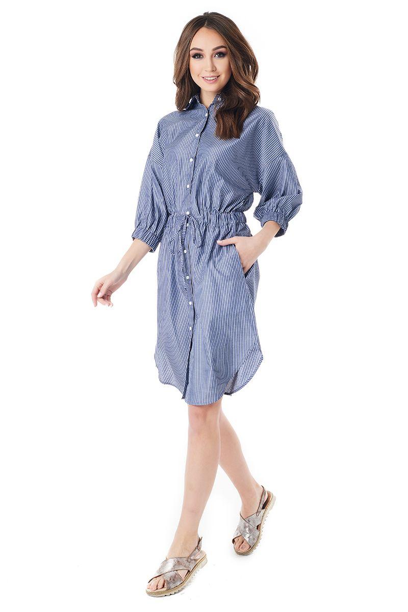 Платье рубашка LalaStyle 1399-256