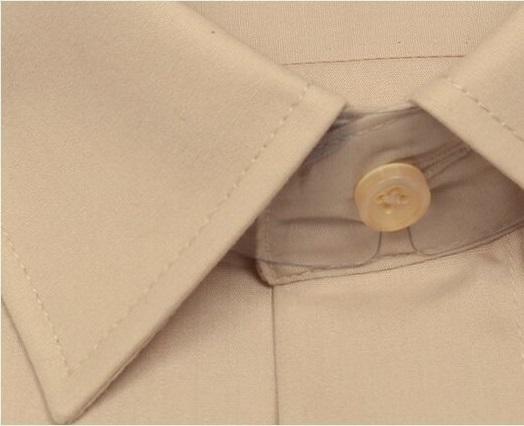 Однотонная мужская рубашка Brostem CVC39
