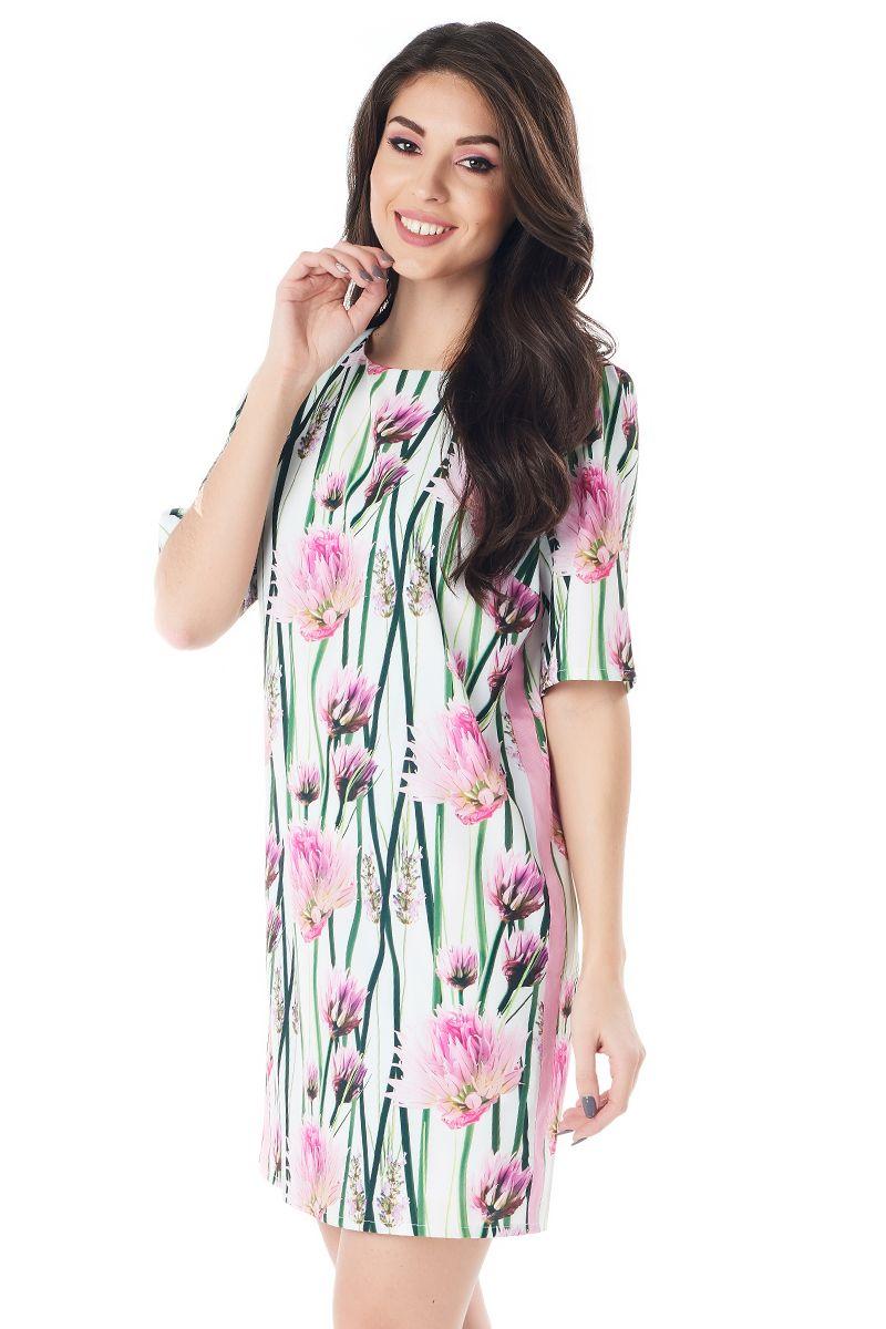 Модное летние платье LalaStyle 1414-215