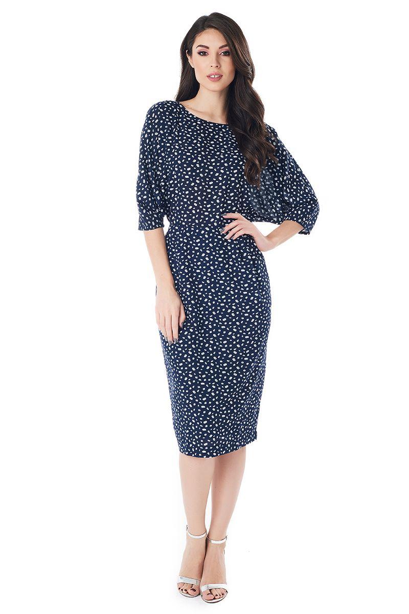 Стильное летние платье Lala Style 1405-265
