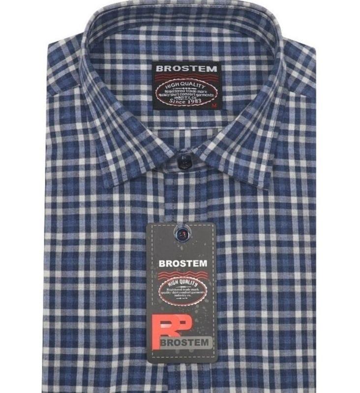 Модная кашемировая рубашка Brostem KA2440