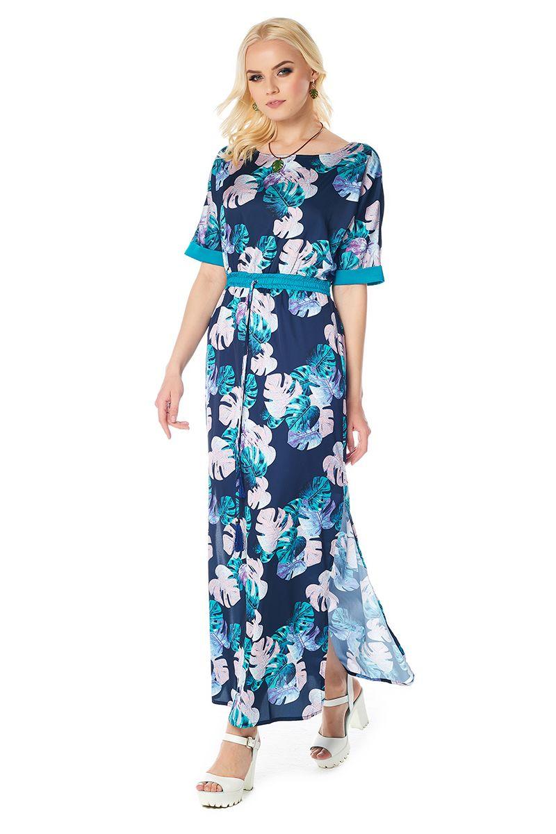 Стильное летние платье LalaStyle 1415-176