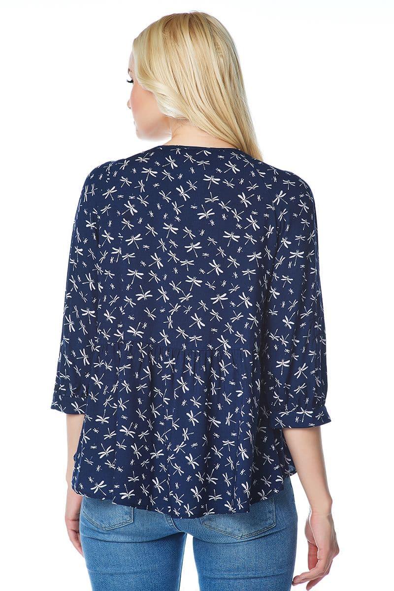 Модная блузка Lala Style 1456-241