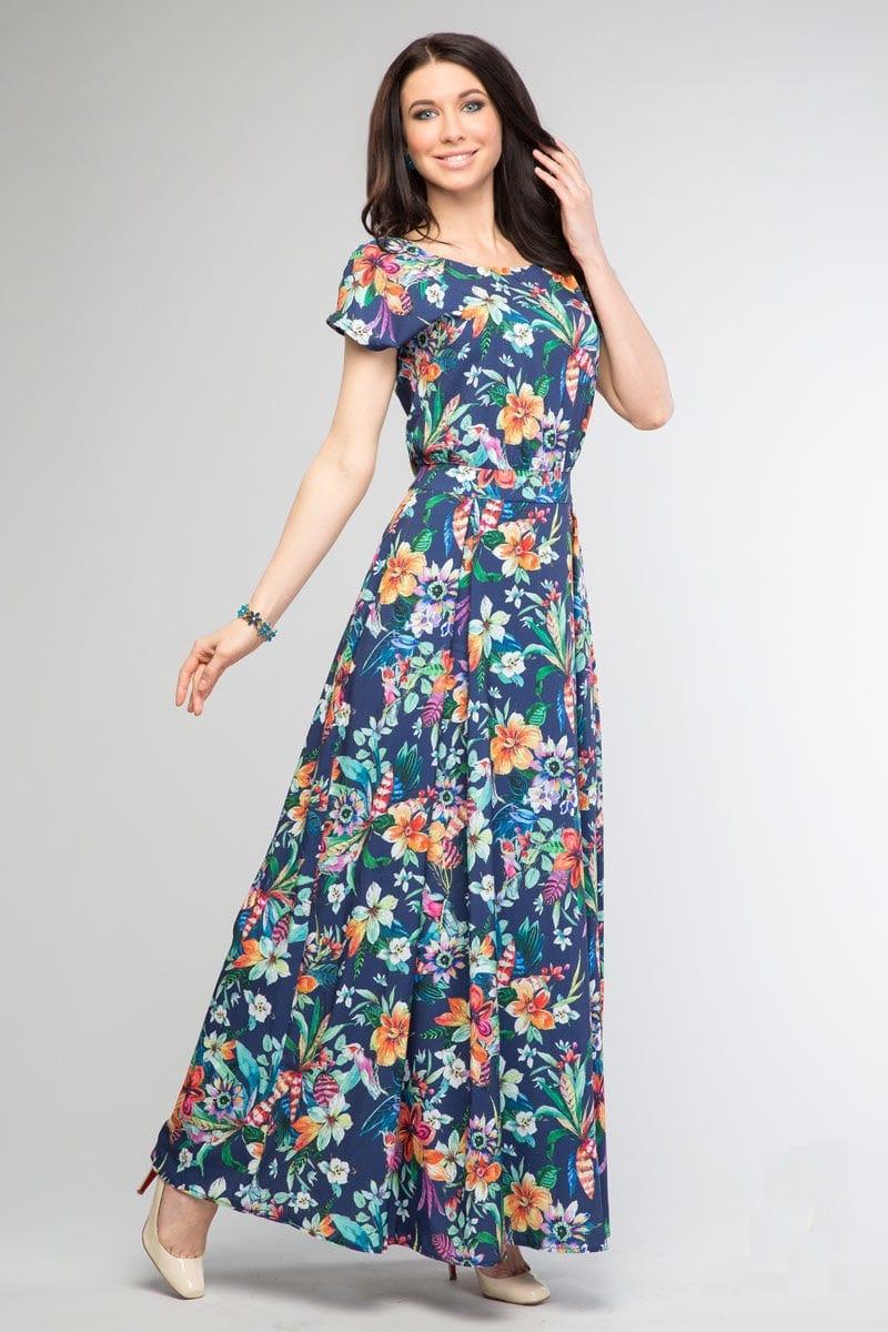 Красивое платье в пол  Lala Style 1083-05