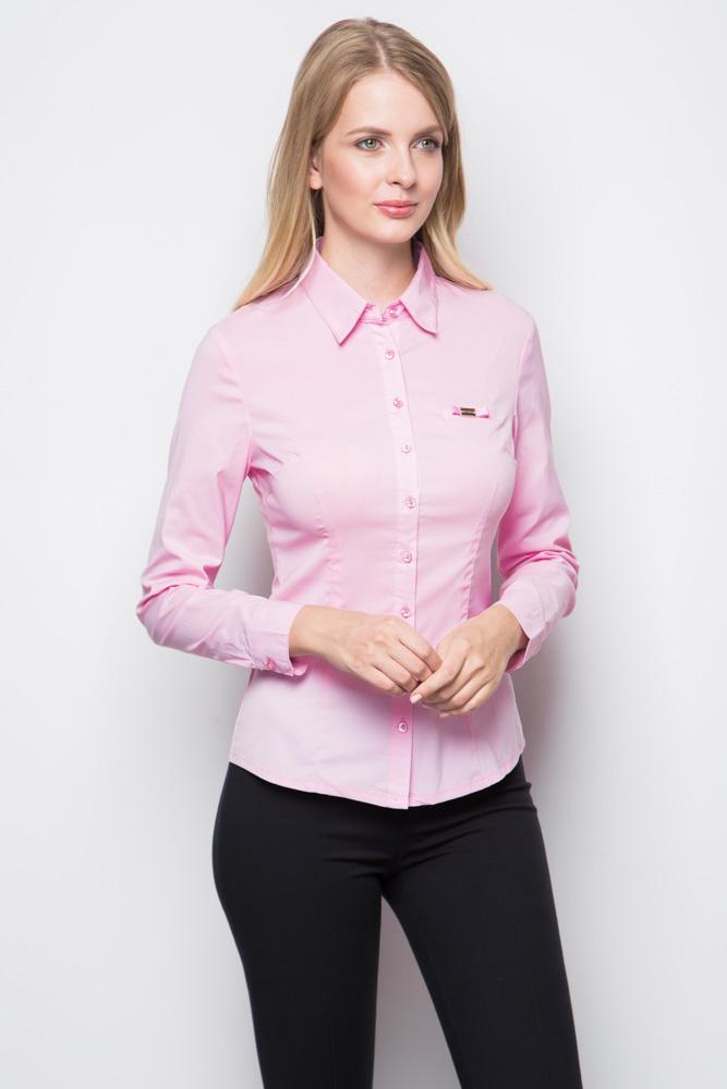 Розовая женская блузка Marimay 1005-1350