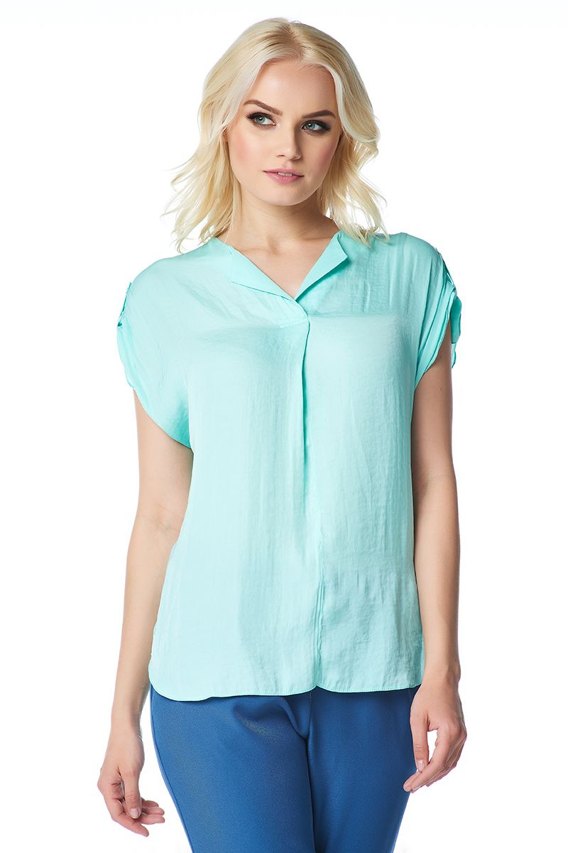 Стильная летняя блузка LalaStyle 1408