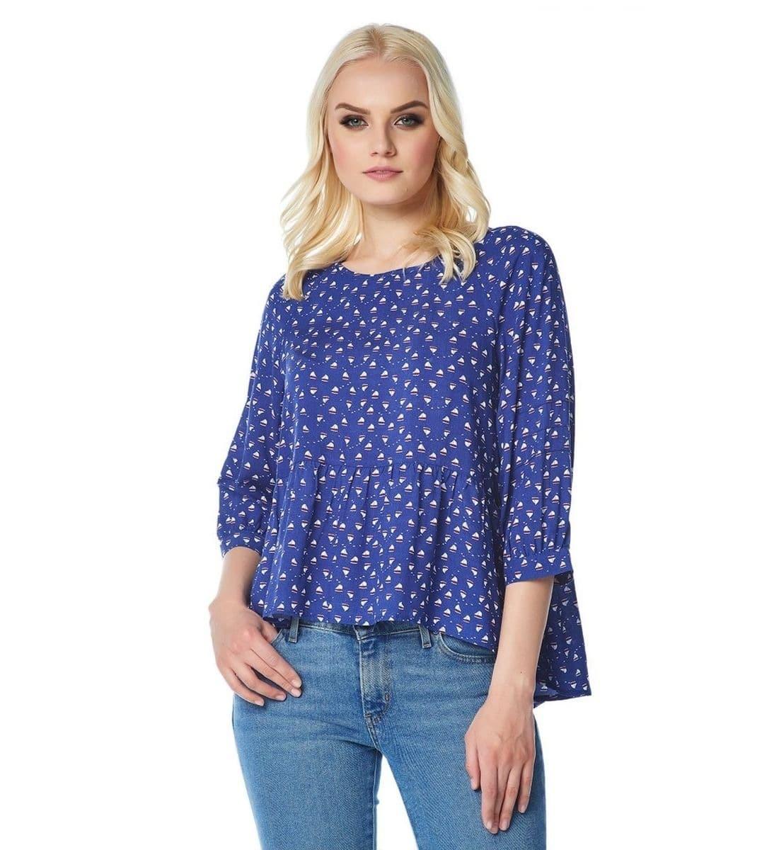 Модная блузка LalaStyle 1456-254