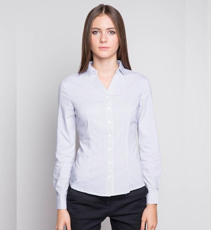 Женская рубашка с длинным рукавом Marimay 1577